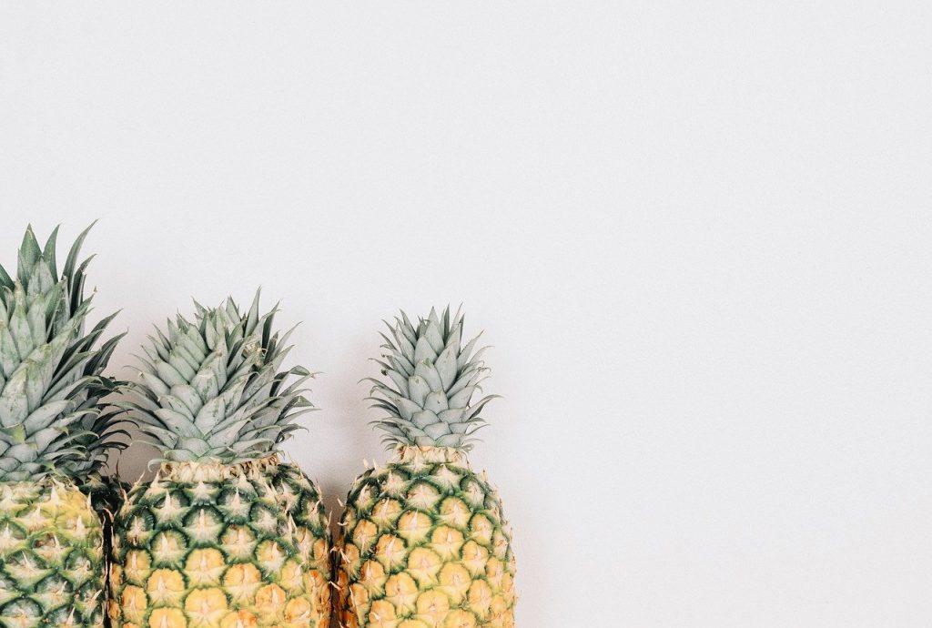 fruit, pineapple, minimal