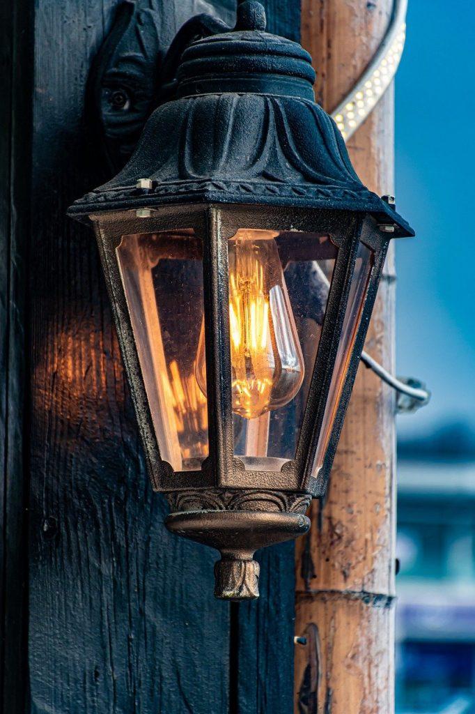 lamp, light, lightbulb